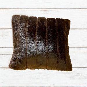 DIAN AUSTIN COUTURE mink fur pillow